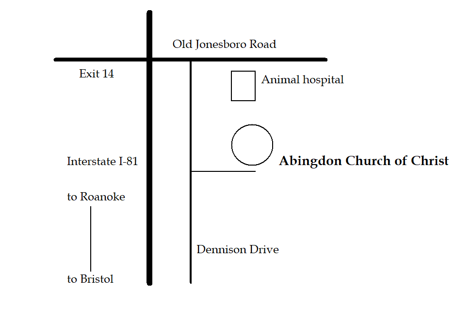 abingdon-church-of-christ-location